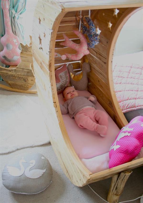 Детская кроватка своими руками 74